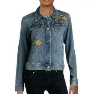 Ralph Lauren Denim Jean Jacket Embroided